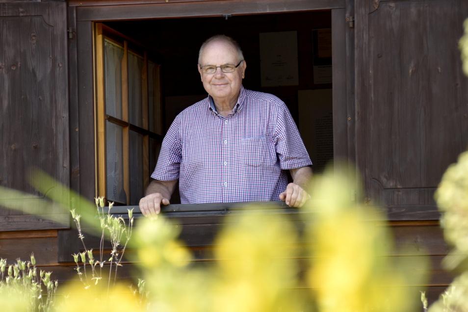 Der Vorsitzende Klaus-Dieter Hansel rechnete nicht mit einem erneuten Gewinn des Wettbewerbs. Seit zehn Jahren führt er den Verein.