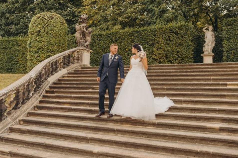 Im Barockgarten ist am Sonntag Hochzeitsmesse-Zeit.