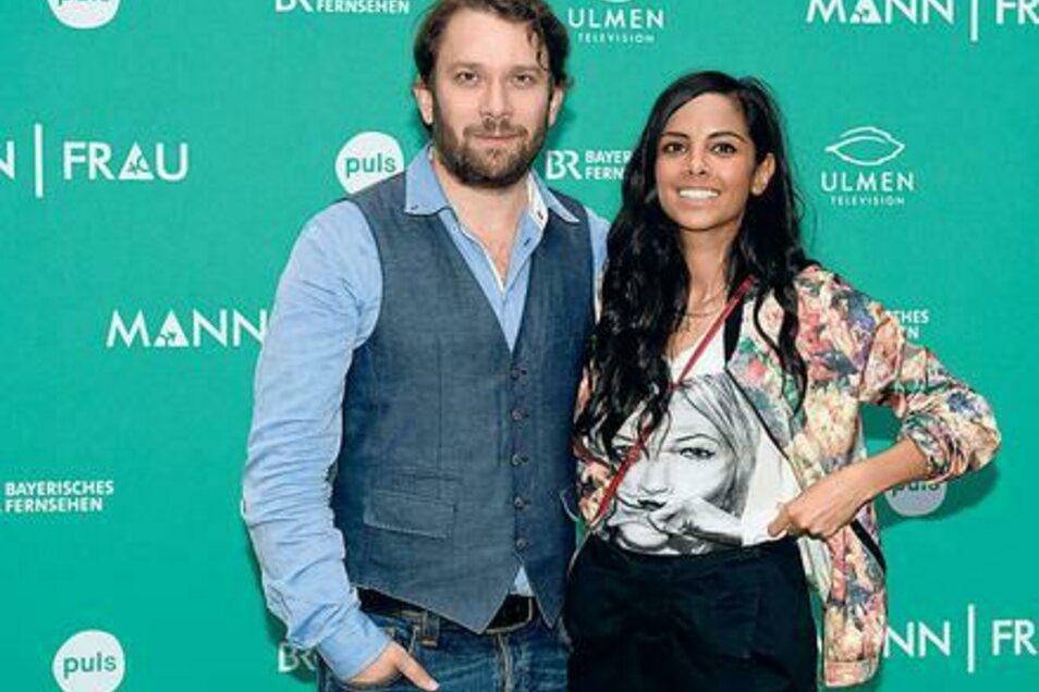 Das Schauspielerpaar Christian Ulmen und Collien Ulmen-Fernandes.