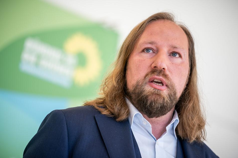 Anton Hofreiter, Fraktionsvorsitzender von Bündnis 90/Die Grünen.