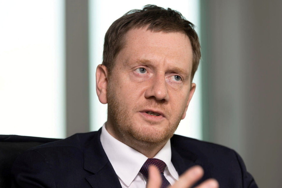 Michael Kretschmer sucht wieder das Gespräch mit den Einwohnern des Landkreises Görlitz.