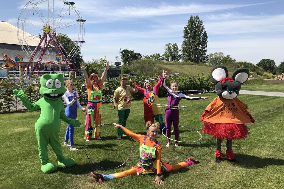 Die Family City rund um den Ostra-Dome feiert am Wochenende Premiere.