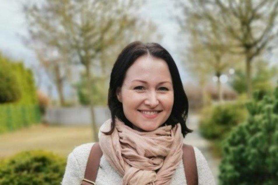 Sie hatte die Idee und nun das Portal, über das man zu einem Stück Grün kommen kann: Angelika Kramer-Schütz.