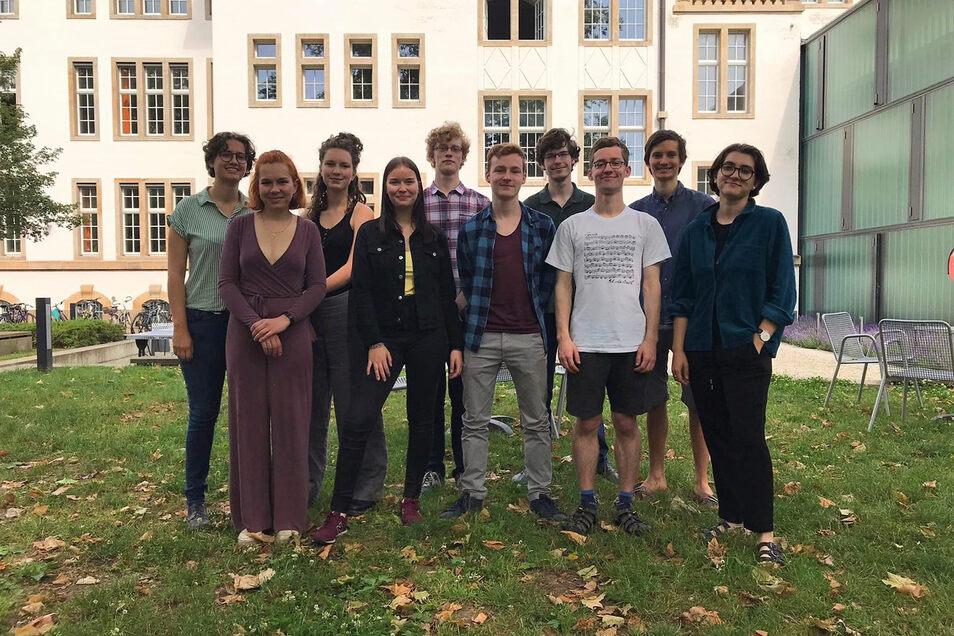 Diese Absolventen des Landesgymnasiums für Musik gastieren am Sonntag im Rahmen der Meisterinterpreten-Reihe im den Parksälen in Dipps.