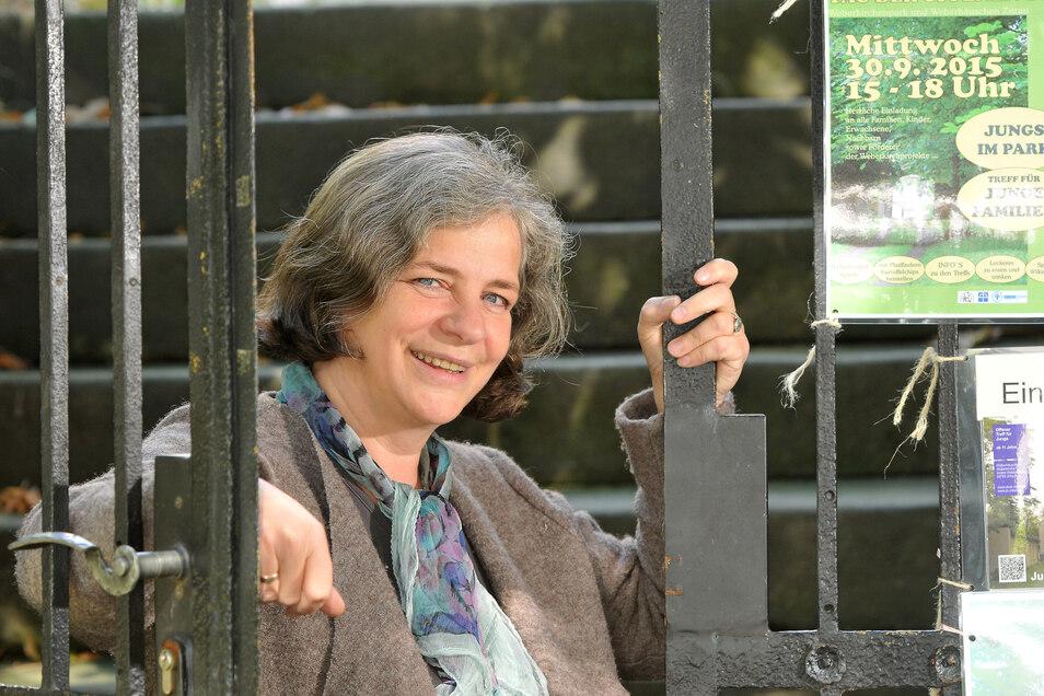 Rosemarie Hannemann nimmt am Erzählsalon teil.