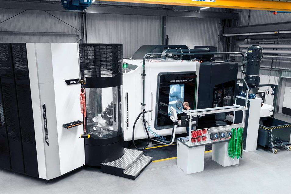 Vor allem um solche Maschinen geht es, wenn Havlat in Größenordnungen investiert.