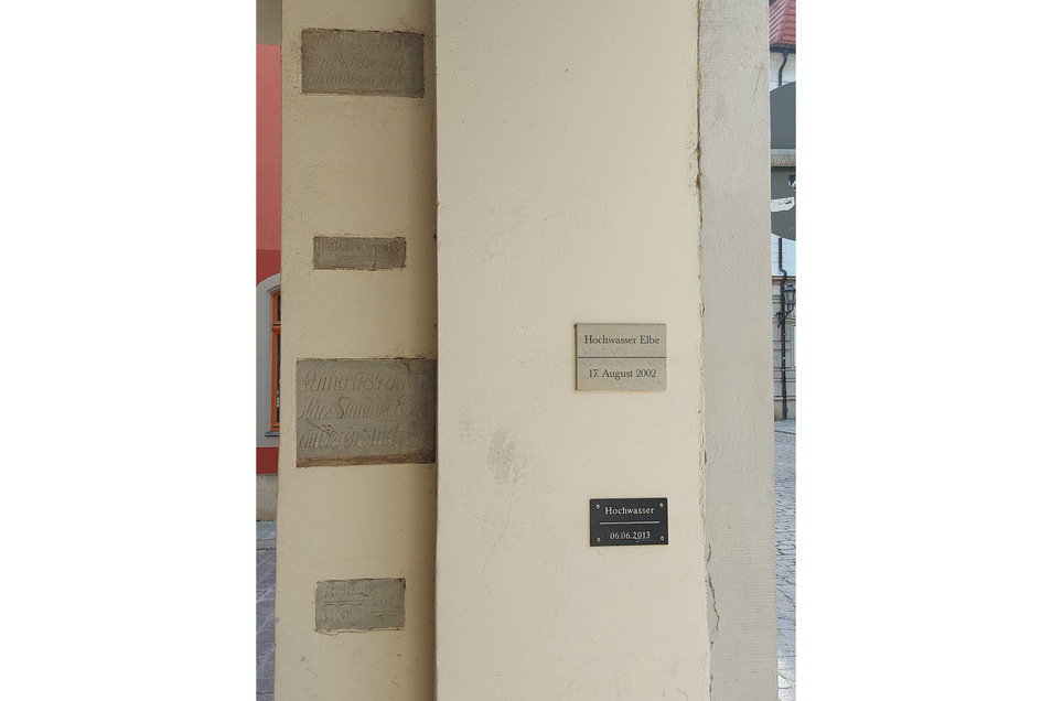Markierungen Heinrichsplatz/Leipziger Str.