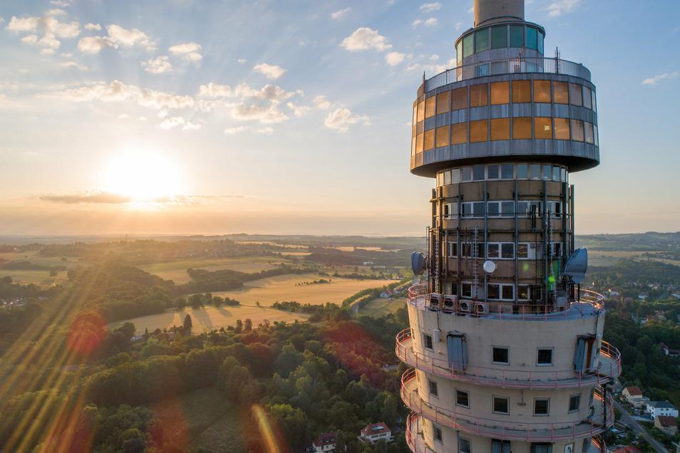 Diesen Blick vom Turm möchten viele Dresdner wieder erleben können.