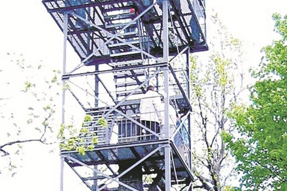 Oberlichtenau: Keulenbergturm