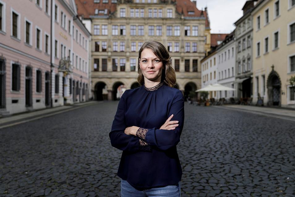 Katja Knauthe (37) ist seit einem Jahr Gleichstellungsbeauftragte der Stadt Görlitz.
