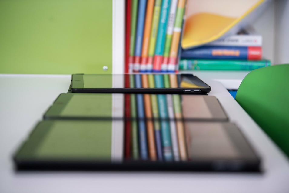 Ersetzen Lehrbücher nicht, machen aber das Lernen mobiler: Tablets.