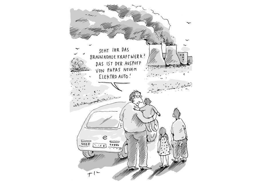 Der Publikumspreis des 20. Deutschen Karikaturenpreises geht an Til Mette mit dieser Zeichnung.