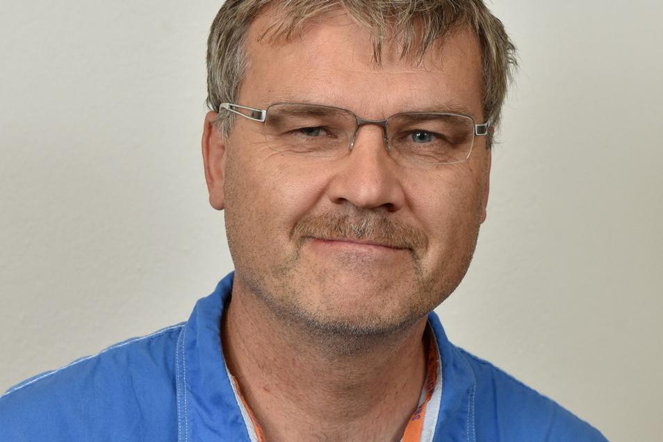 Steffen Barthel von der Wählergemeinschaft Johnsbach hat vorerst keine Ambitionen.
