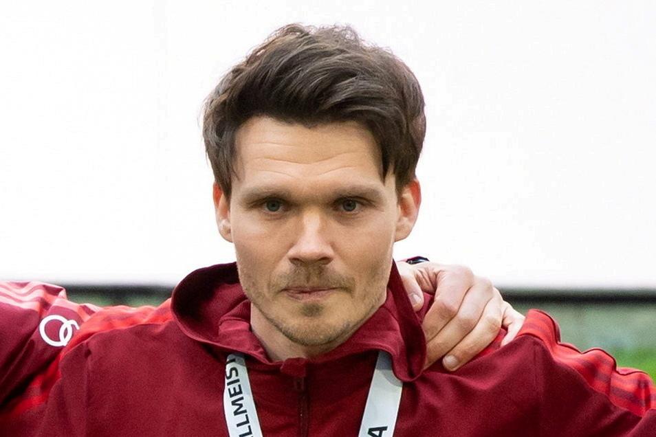 Schon beim FC Bayern Flicks Assistent: der Zwickauer Danny Röhl.