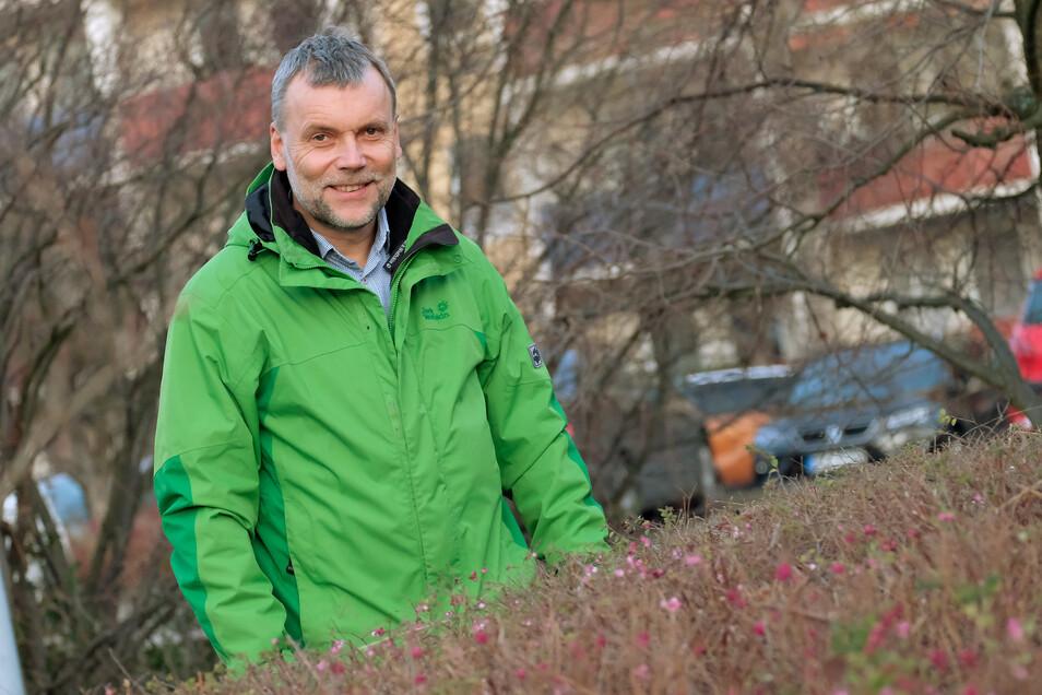 Als ehrenamtlicher Vorsitzender des Arbeitskreises Radverkehr engagiert sich Heiko Schulze für die Interessen der Radfahrer in Meißen. Er wünscht sich für sie mehr Sicherheit und möchte deshalb den Radverkehr in der Stadt attraktiver gestalten.