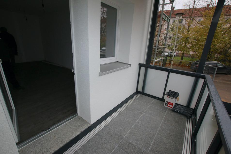 Die Döbelner Straße 9-17 in einer Planungsansicht