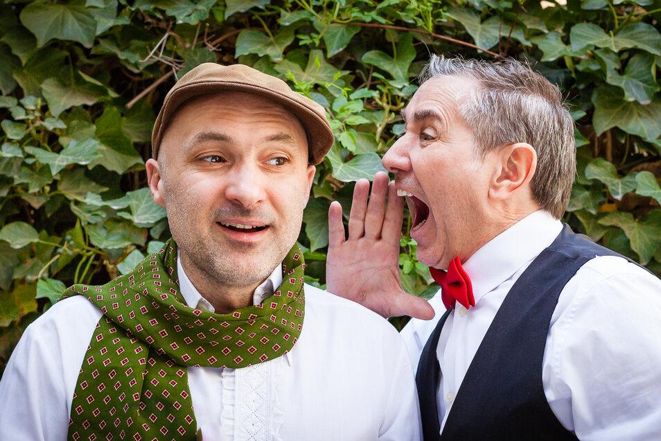 """Thomas Schuch (rechts) und Micha Winkler spielen passend zum Neustart """"Plan B""""."""