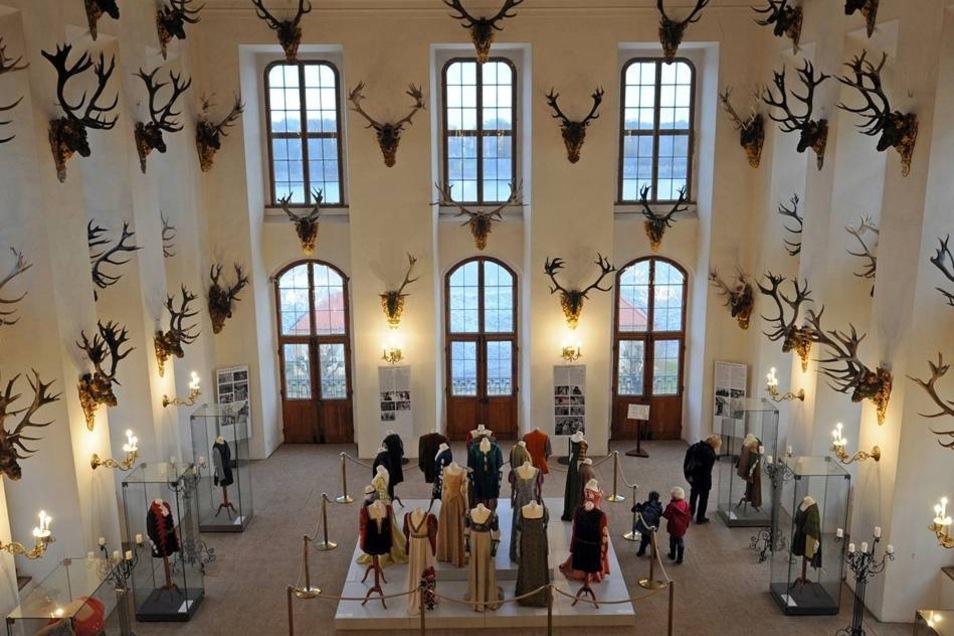 Die Kostüme 2011 im Moritzburger Schloss.