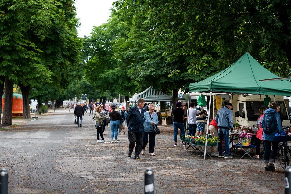 Inzwischen hat der Wochenamrkt in Görlitz einen neuen Pächter, die Deutsche Marktgilde.