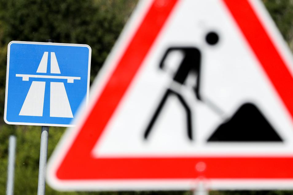 Das Lasub bittet alle Verkehrsteilnehmer um Verständnis für die Einschränkungen auf der A 17.