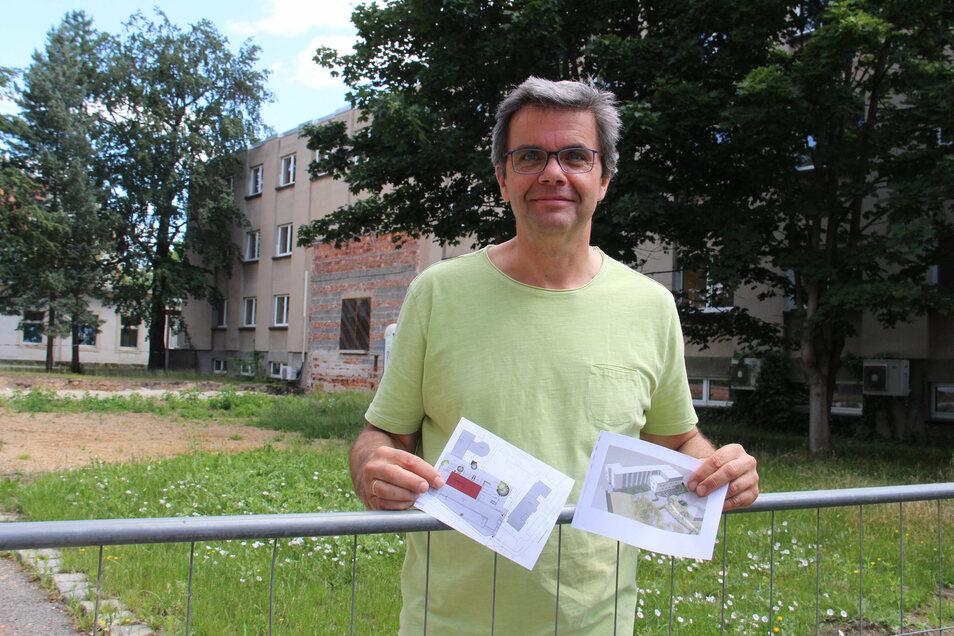 Das Medizinische Labor Ostsachsen, das seinen Hauptsitz in Bautzen hat, will moderner werden. Für den Umzug neben das Krankenhaus hat der ärztliche Leiter Thomas Luther schon konkrete Pläne vorliegen.