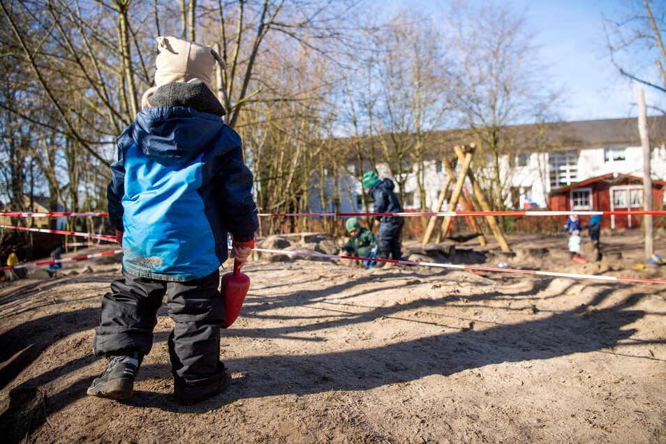 Die Kitas im Landkreis Görlitz stehen vor der erneuten Schließung.