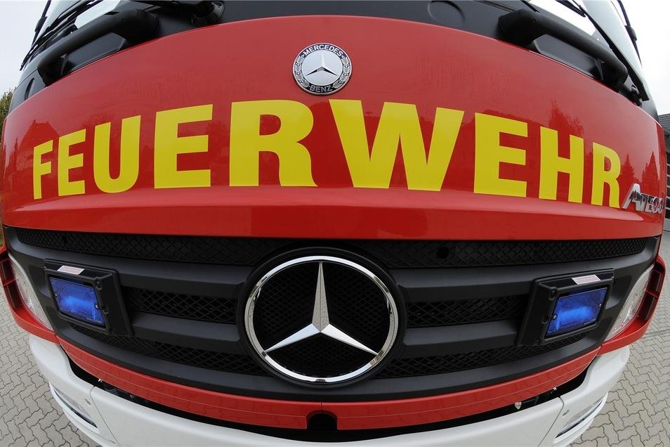 Die Feuerwehr ist seit Sonnabend im Großeinsatz in einem Waldstück bei Beilrode.