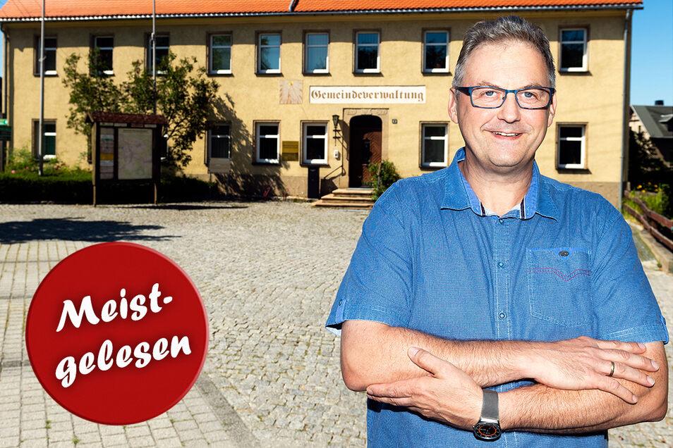 Der Steinigtwolmsdorfer Bürgermeister Lutz Förster gibt sein Amt überraschend auf.