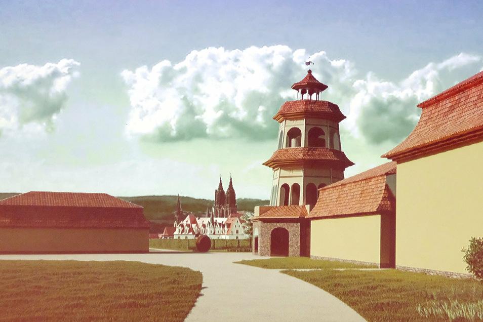 Das Bauprojekt von Georg Prinz zur Lippe in Proschwitz mit einem zweigeschossigen Gästehaus sowie einem Aussichtsturm erhielt am Mittwochabend keine Mehrheit im Stadtrat Meißen.
