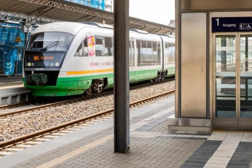 Der Aufzug am Bautzener Bahnhof ist derzeit defekt.