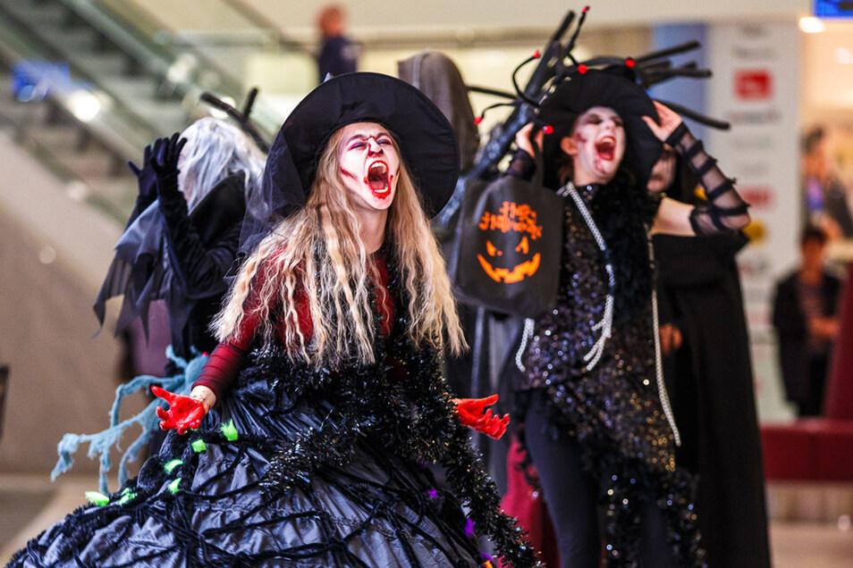 Gruselig, bunt, lustig und unterhaltsam steuert der ELBEPARK auf Halloween zu.