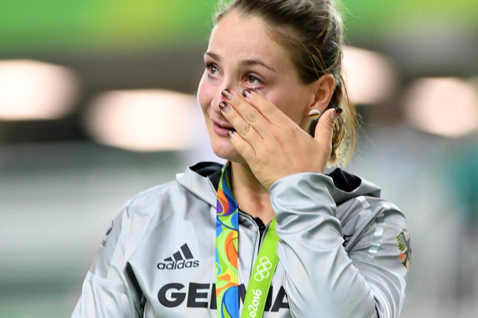 2016 erneut Gold: In Rio siegt sie in einem spannenden Sprintfinale.
