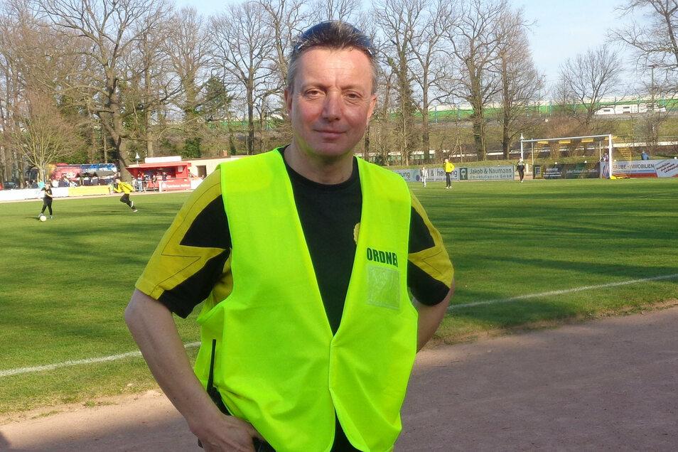 Ralf Braune wird am Sonnabend beim Derby mit Polizei, Security und Ordnern für den ordnungsgemäßen Ablauf sorgen.