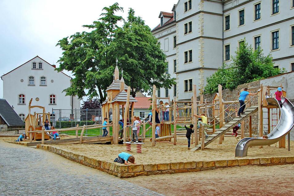 Der Kirchspielplatz in Lommatzsch ist ab Montag wochentags von 9 bis 16 Uhr den Kindereinrichtungen vorbehalten.