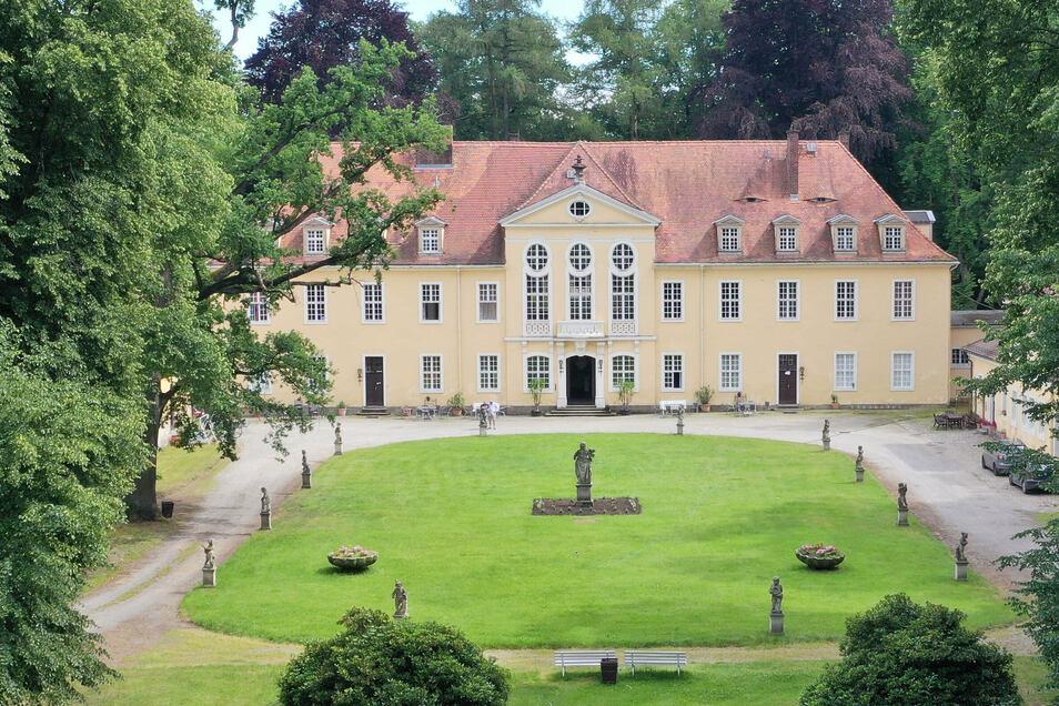 Im Schloss und im Park Oberlichtenau finden an diesem Wochenende erstmals die kreativen Sommertage statt.
