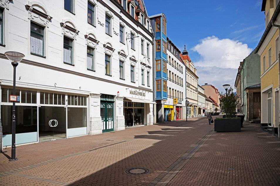 Auf der Hauptstraße in Riesa soll demnächst eine Kunstaktion stattfinden.