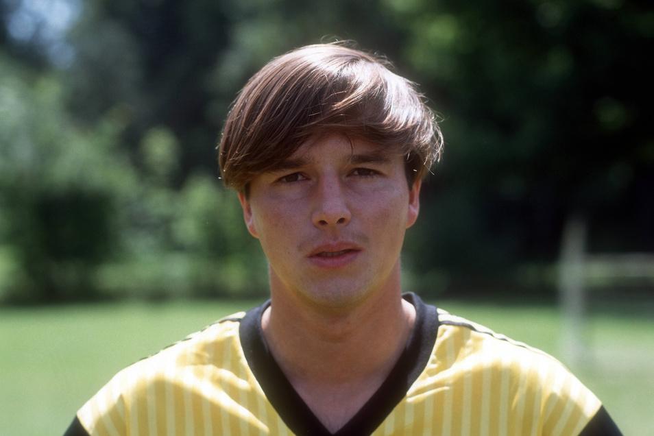 Jörg Stübner als Dynamo-Spieler Anfang der 1990er-Jahre.