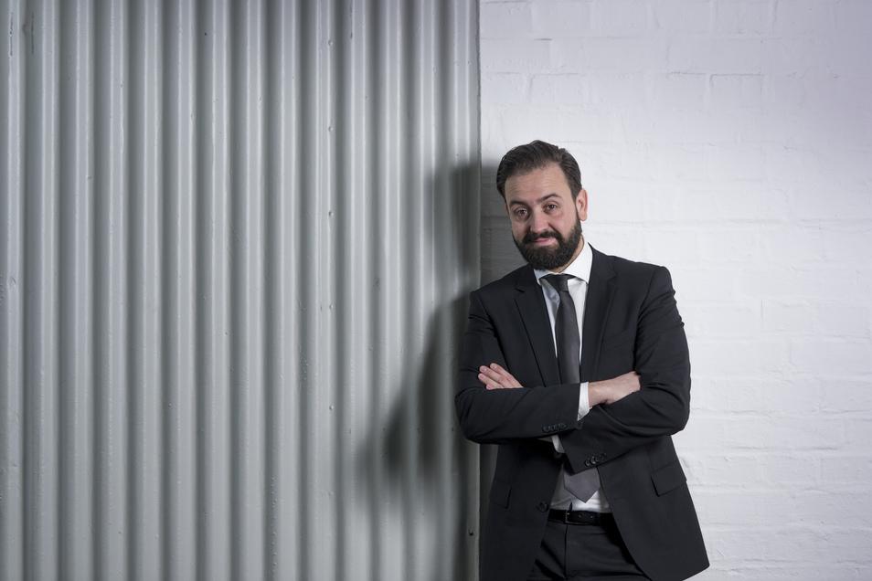 Immer schick gekleidet: Justizminister Sebastian Gemkow (CDU). Jetzt will er den Leipziger Oberbürgermeister herausfordern.