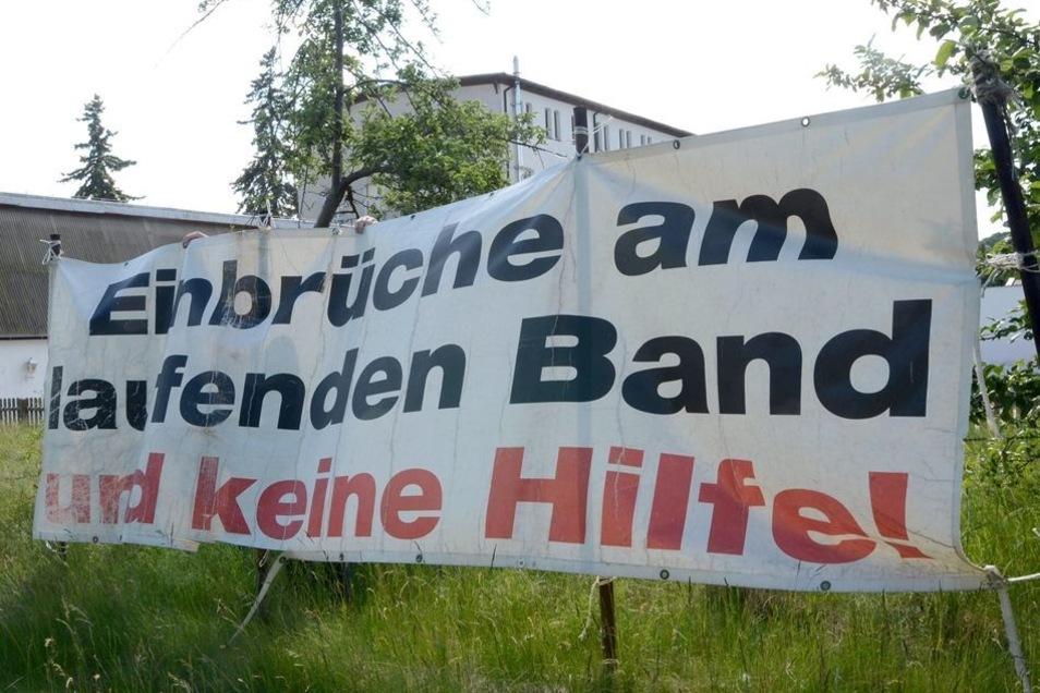 Rothenburger ärgern sich über die Häufung von Einbrüchen und Diebstählen - noch mehr allerdings darüber, dass sie kaum Hilfe bekommen.
