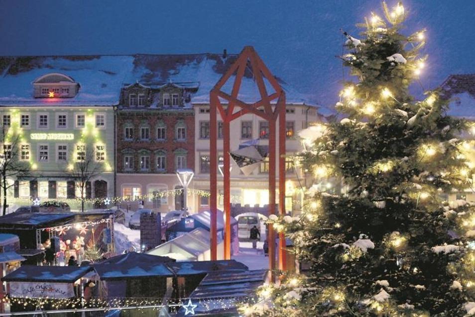 Vorfreude:  So stimmungsvoll wie im letzten Jahr soll auch der diesjährige Weihnachtsmarkt werden, auch wenn er nun nur an zwei Tagen stattfindet.