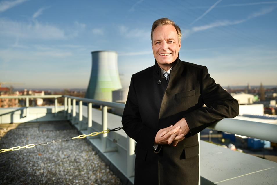 Frank Brinkmann ist einer der Chefs des Energieverbunds Dresden, der verklagt wird.