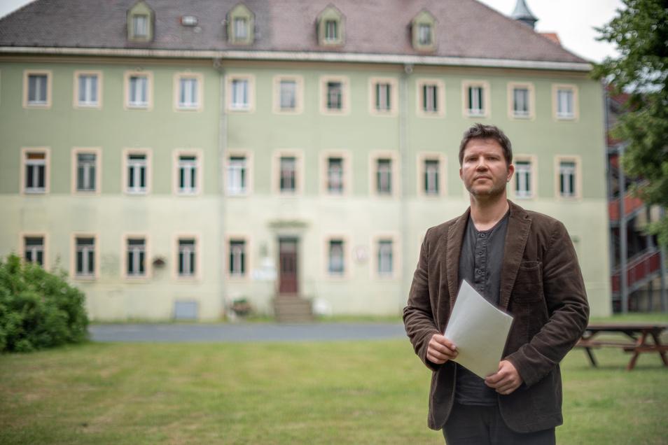Keine freie Schule im Schloss: Die Pläne für eine Freie Alternativschule in Kamenz sind gescheitert. Das bedauert Frank Jank, einer der Initiatoren.