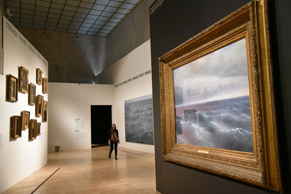 Die Ausstellung gilt als einer der Höhepunkte des Deutschlandjahres in Russland.