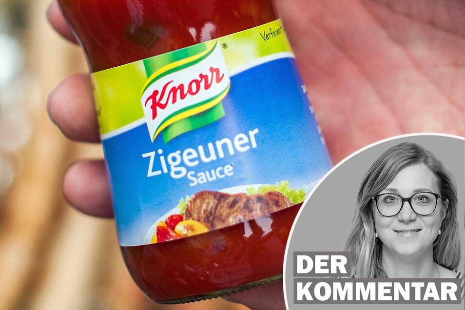 Knorr hat seine Zigeunersauce bereits umbenannt.