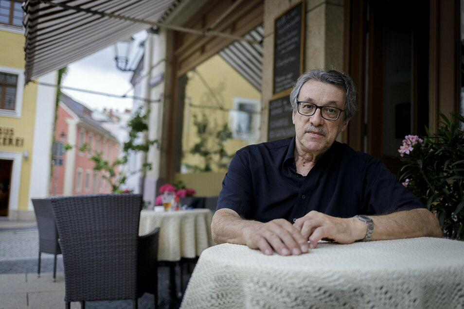 Johannes Witoschek wagte mit 73 Jahren einen gastronomischen Neustart in der Görlitzer Nikolaivorstadt. Und war damit nicht der Einzige.