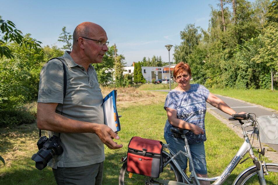 Matthias Schmieder war Geschäftsführer der Landesgartenschau GmbH und ist heute für Stadtkultur und Ordnung zuständig. Zusammen mit Bauhofleiterin Kerstin Mai und weiteren Beteiligten soll im Gartenschaupark jetzt eine Mammutaufgabe gestemmt werden.