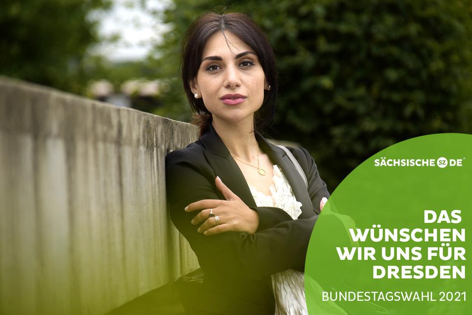 Eter Hachmann ist Chefin des Dresdner Ausländerrates. Was Dresdens neue Bundestagsabgeordneten tun sollten, davon hat sie eine klare Vorstellung.