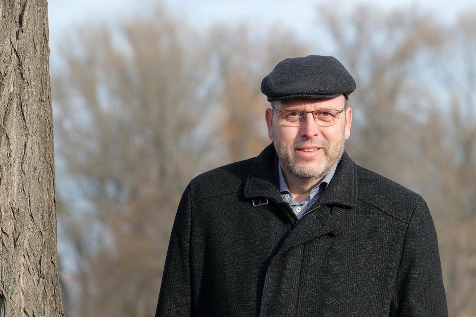 """""""Wir versuchen vorausschauend zu planen"""": Meißens Oberbürgermeister Olaf Raschke (parteilos)."""