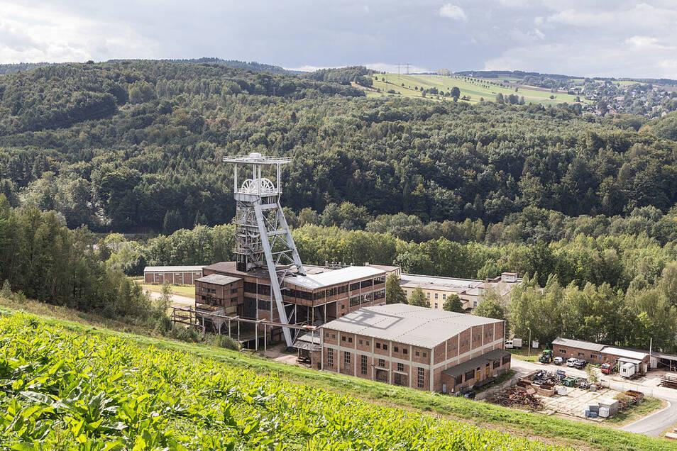 """17. Bergbaulandschaft Uranerzbergbau """"Schachtanlage 371"""""""