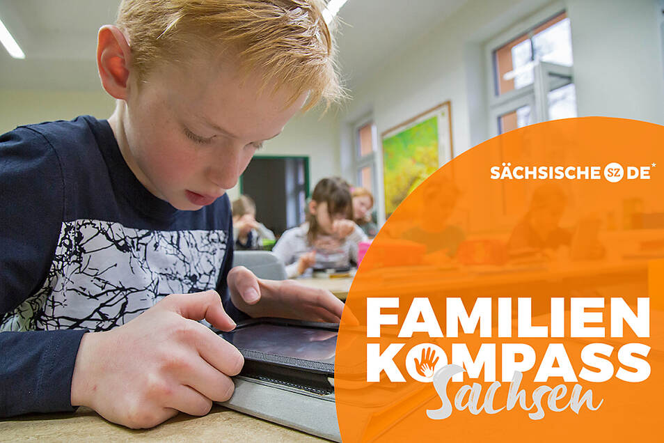 Für die Schüler in der Grundschule Rothenburg sind Tablets nichts Besonderes mehr.